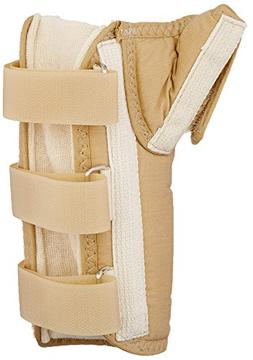 Rolyan D-Ring Wrist and Thumb Spica Splint for Right Wrist,
