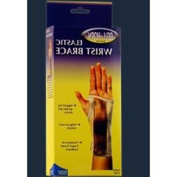 Suede Wrist Brace in Brown / Tan - Size: Extra Large, Wrist: