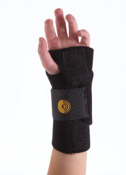 Corflex Target Neoprene Wrist Brace for Kids-Right - Black