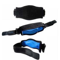 Tennis and Golfer's Elbow Brace with Wrist Strap Support Com