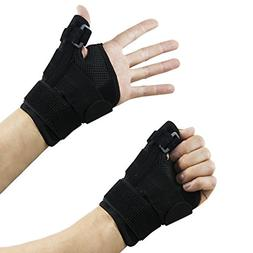 Thumbs Brace Wrist Guard Straps Injury Support Pain Joint St