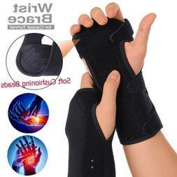 US Hand Wrist Brace Support Removable Splint Relieve For Car