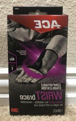 ACE Wrist Brace, Reversible For Right Or Left Hand Use. ADJ