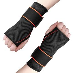 Wrist Brace Hand Support Compression Palm Glove For Sport Ar