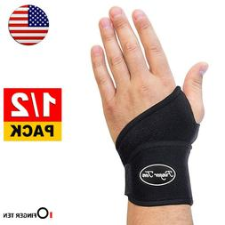 Wrist Brace Left Hand Right Carpal Tunnel Tendonitis Support