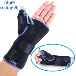 Velpeau Wrist Brace with Thumb Spica Splint Support for De Q