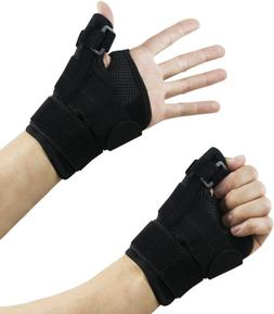 Wrist Brace Thumb Stabilizer Splint Guard, Reversible, Singl