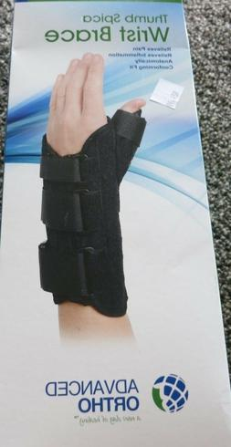 Wrist Brace with Thumb Spica Right, Pain Relief, Conforming