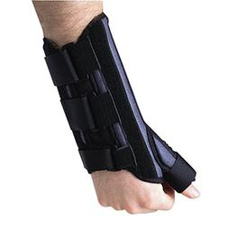 Breg Wrist Cock-Up Splint W/Thumb Spica, Right, M Part #1030