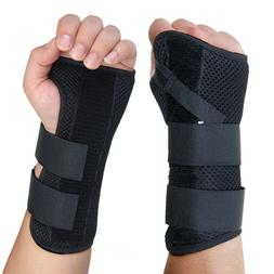 Wrist Hand Braces Carpal Tunnel Support Splint Arthritis Spr