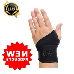 Wrist Support Brace Carpal Tunnel Tendonitis Pain Relief Fit