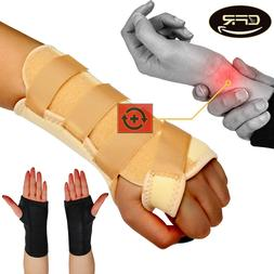 Wrist Support Brace Night Sleep Relief Carpal Tunnel Arthrit