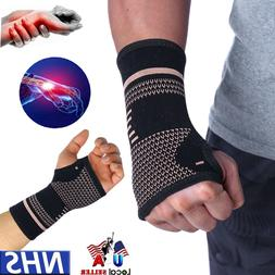Wrist Support Hand Palm Brace Compression Glove Sleeves Arth
