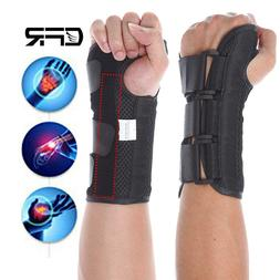 Wrist Support Splint Brace Carpal Tunnel Arthritis Sprain Pa