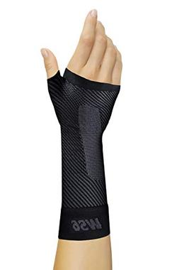 OrthoSleeve WS6 Compression Wrist Sleeve - Small - Black